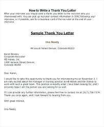 Thank You Letter To Hr Recruiter Sample End Of Employment For Visa