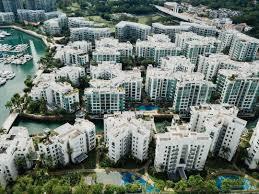 Building Complex Condos Apartment Building Coastal City Building