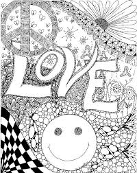 Small Picture 318 best TrippyPsychedelic Coloring Pages images on Pinterest