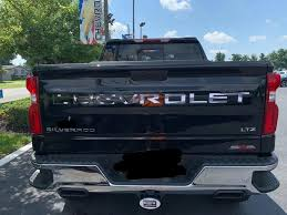 American Flag Black White Tailgate Word Insert Decals For 2019 2021 Acerbographix
