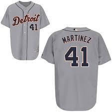 Victor Martinez 41 Mlb Jersey Detroit Tigers Womens