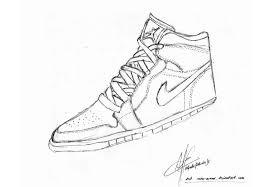 nike shoes drawings. nike air jordan shoe drawing by rontu-arrow shoes drawings