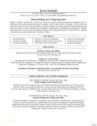 Cover Letter For Medical Billing Specialist Primeliber Com
