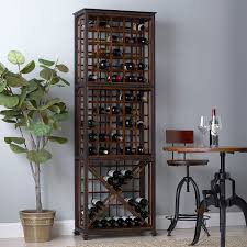 Industrial Chic Wine Rack Wine Enthusiast