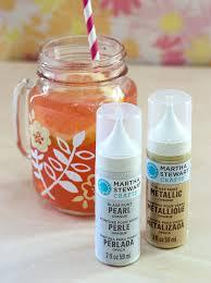 diy hand painted mason jar mugs marthastewart glassware paint