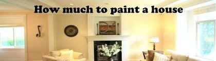 cost to paint interior of home how much to paint a house cost header image x