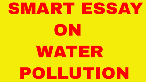 smart essay on water pollution smart essay on water pollution