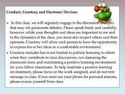 elit class  13 conduct courtesy