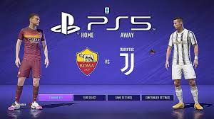 FIFA 21 PS5 JUVENTUS - AS ROMA | MOD Ultimate Difficulty Career Mode HDR  Next Gen - YouTube