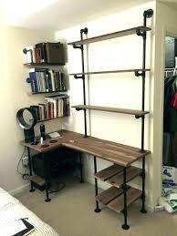 office shelving units. Desk With Shelf Shelves Above Computer Storage Furniture Ideas Shelving Unit Riser Office Units