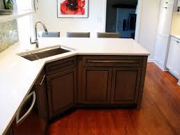Corner Kitchen Sink Cabinets Inspirational Corner Kitchen Sink Cabinet 85 For Interior
