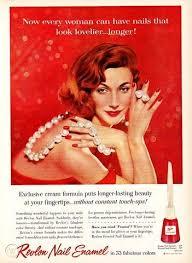 50s vine revlon beauty nail polish