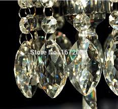 30pcs 63mm clear crystal drop pendant octagon bead lighting pendant glass crystals for chandelier wedding decoration