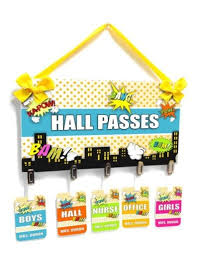 Hall Pass Ideas Youll Want To Steal For Your Classroom