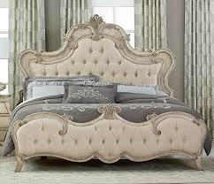 tufted upholstered beds. Homelegance Elsmere Button Tufted Upholstered Bed - Antique Gray Tufted Upholstered Beds