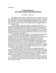 summary analysis response essay example touched quitting tk summary analysis response essay example