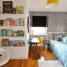 mid century modern kids bedroom. Kid\u0027s Midcentury Modern Bedroom With Reading Nook Mid Century Kids C