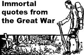 Quotes On War Custom Immortal Quotes From The Great War