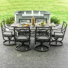 swivel chair patio set outdoor furniture swivel chairs outdoor