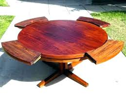 round expanding table plans expands hardware expandable diy extending kitchen round expanding table