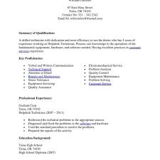 Pharmacy Technician Resume Objective Entry Level Pharmacy