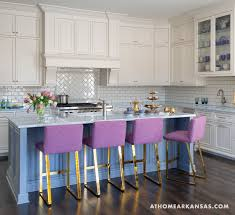 purple counter stools