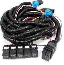 boss plow zeppy io boss snow plow 13 pin 5 relay wiring harness truck side msc08001