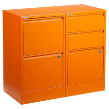 Decorative Filing Boxes Bisley Orange 100 100Drawer Locking Filing Cabinets The 33