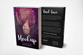 front back 5 x 8 paperback book mockup standing 6 x 9 hardcover book mockup with dust jacket