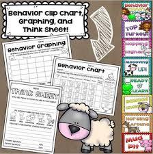 Farm Animals Theme Class Decor Bundle Behavior Chart Name Plates Signs