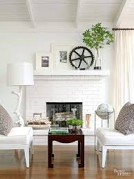painted brick fireplaces with painted brick stone fireplace inspiration for create astonishing painted brick fireplace surround