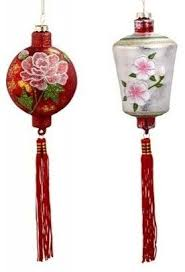 Asian inspired ornaments #SilkRoadCollection