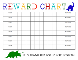 Printable Reward Chart Reward Chart Kids Printable Reward