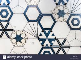 kitchen blue tiles texture. Hexagonal Colorful Modern Bathroom, Toilette Or Kitchen Ceramic Tiles Wall.  Artistic Blue And White Ornamental Hexagonal Texture Pattern E
