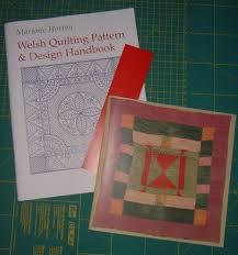 Welsh Quilting Pattern And Design Handbook Welsh Quilt Centre Textile Dreams Fibery Wake Up