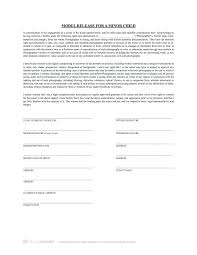 Simple General Liability Release Form Example Photo Template ...