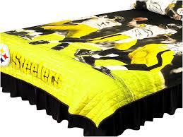 steelers comforter s on pittsburgh steelers band of brothers piece canvas wall