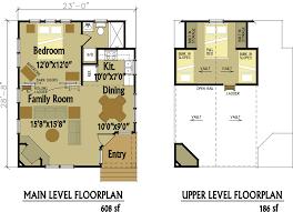 small cabin floorplan design