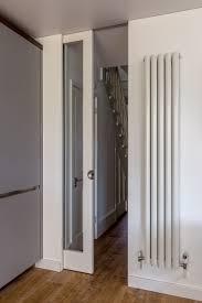 Pocket Door Retrofit Floor To Ceiling Glass Sliding Pocket Door Modern Tall Radiator