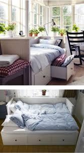 teal bed style worthy hemnes bedroom