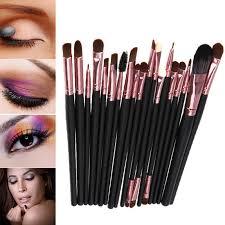 professional 20pcs makeup brush sets tools cosmetic brush foundation eyeshadow eyeliner lip brush make up tool