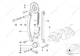 Timing and valve train timing chain for bmw 3 e36 316i m43 sedan