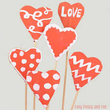 valentines day crafts for kids art