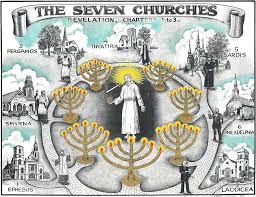 7 Churches Of Revelation Chart The Seven Churches Of Revelation Lilium Tourism