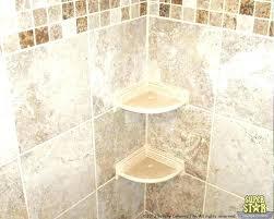 showers glass shelves for shower ceramic shelf tile showers a fros