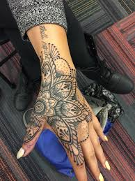 Designs For Hand Tattoos For Female By Randy Vollink Season 4 Of Ink Master Hand Tattoos For