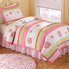 PEM America Crazy Pink Ladybug Twin Quilt Set With Pillow Sham | eBay &  Adamdwight.com