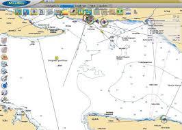 Maxsea Electronic Chart Display Showing Vessels Original