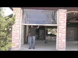 clear plastic vinyl patio curtains