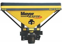 meyer blaster salt spreader hitch mounted  meyer blaster salt spreader
